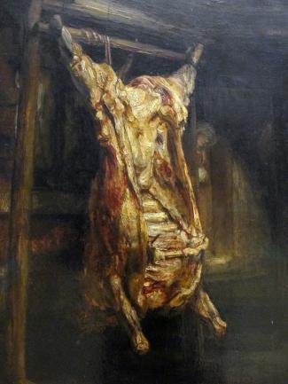 Le boeuf au musée : Rembrandt