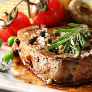Noix d'entrecôte de boeuf d'exception race à viande