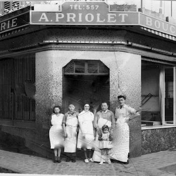 Boucherie Priolet en 1936