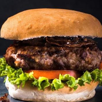 Burger de boeuf d'exception