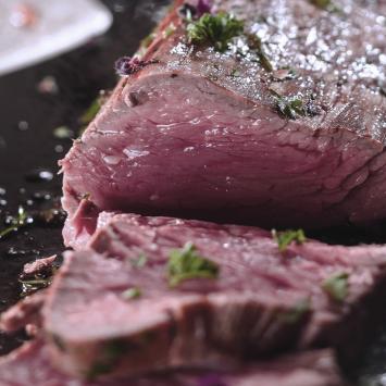 Filet de boeuf race à viande exception