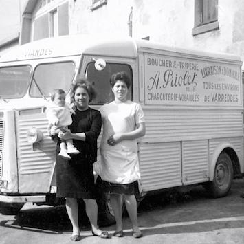 Boucherie Annie Priolet en 1964