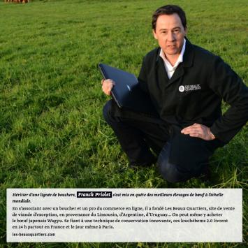 Visuel Les Beaux Quartiers dans Beef Magazine