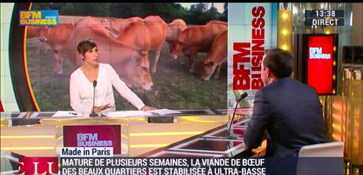 Passage Les Beaux Quartiers sur BFM TV