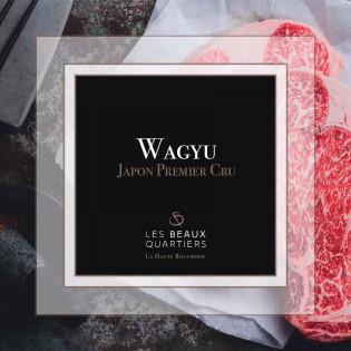 Le Coffret Wagyu Premier Cru du Japon